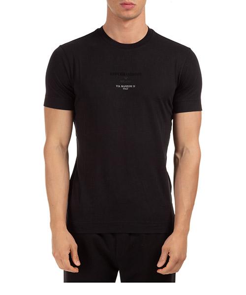 T-shirt Emporio Armani 6h1t6g1jshz0999 nero