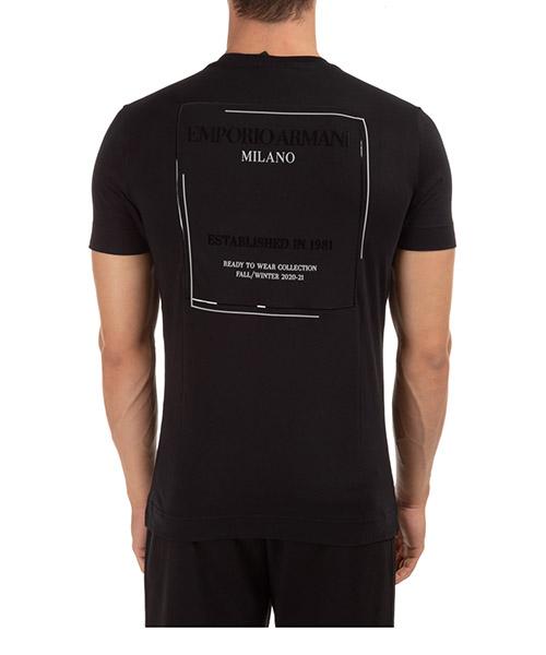 Herren t-shirt kurzarm kurzarmshirt runder kragen manzoni 31 milano secondary image