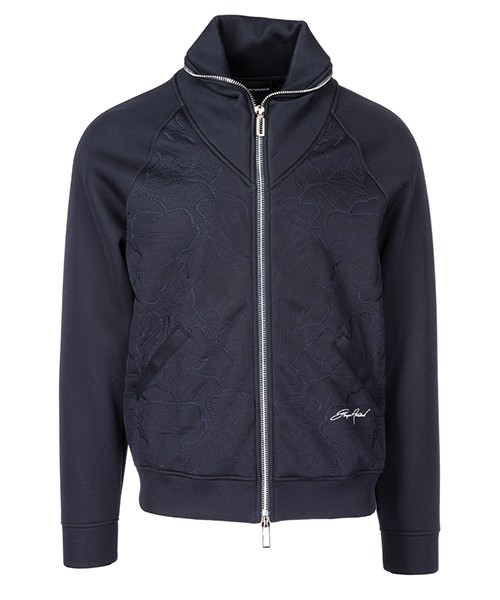 Zip sweatshirt  Emporio Armani 6Z1BR11JTSZ0920 blu navy