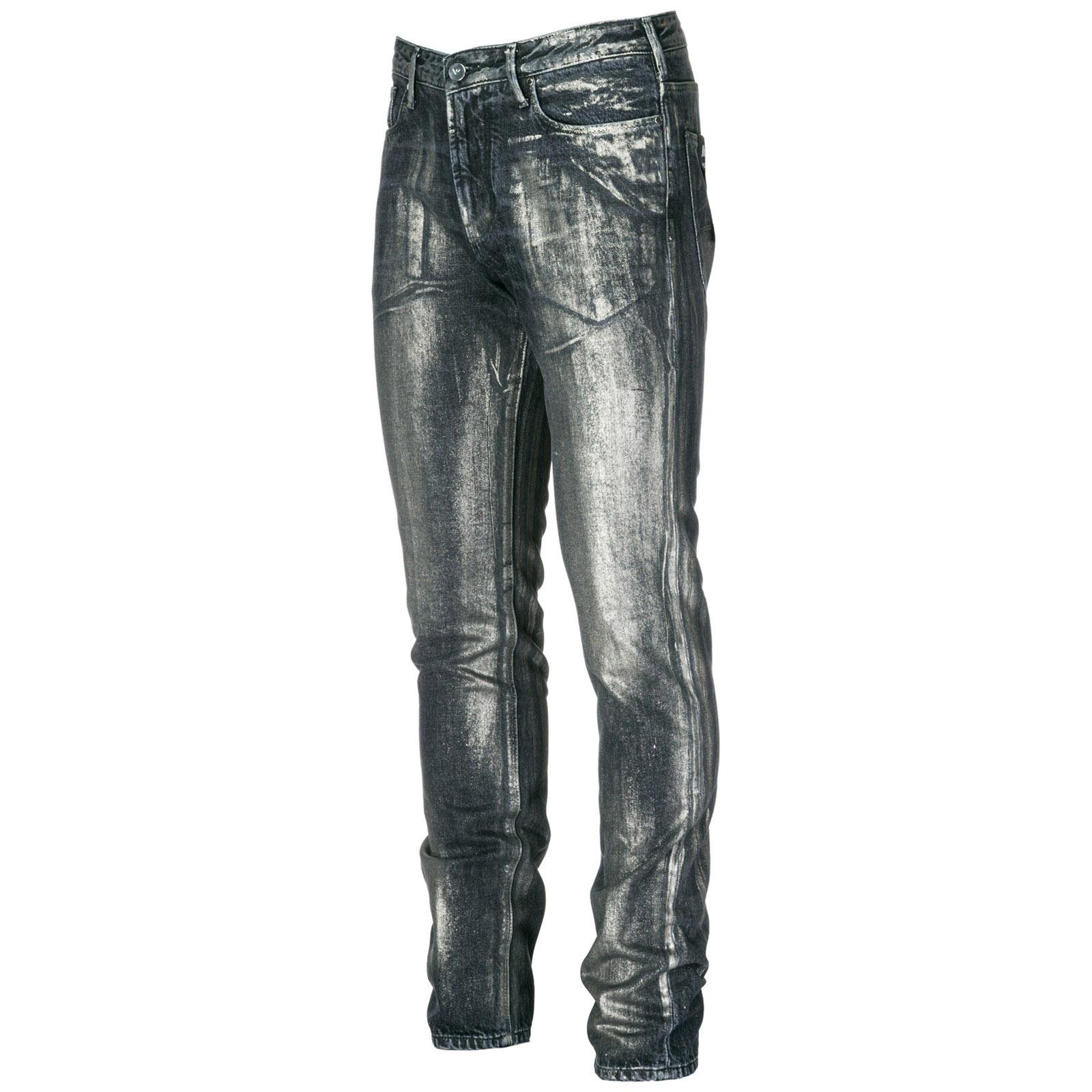 b8888f76c087aa Jeans Emporio Armani 6Z1J061D2EZ0005 denim nero