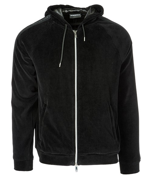 Sweat avec zip  Emporio Armani 6Z1MB41J42Z0999 nero