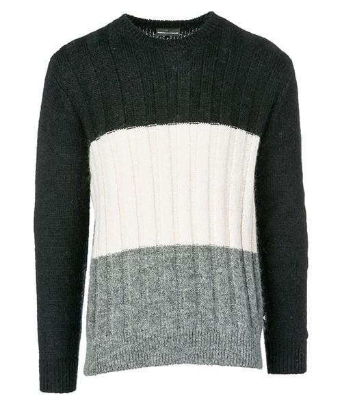 Maglione Emporio Armani 6Z1MX91MQVZF028 black - grey -beige