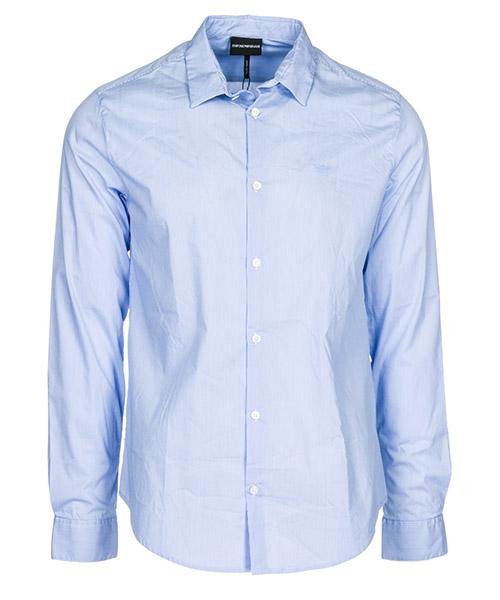 Camicia Emporio Armani 8N1C091N06ZF707 azzurro