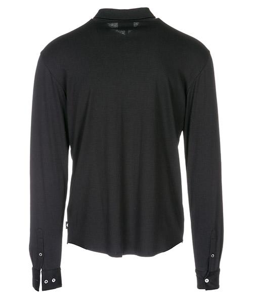 Herren t-shirt polo langarm langarmshirt polokragen secondary image