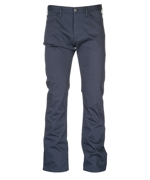 Trousers Emporio Armani 8N1J211N0LZ0998 catrame