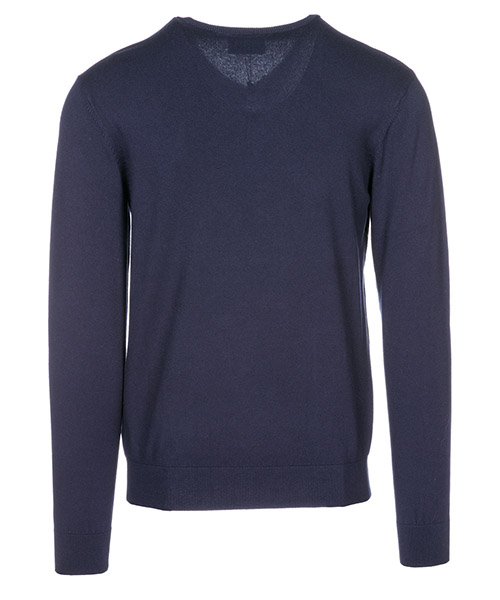 Herren pullover v ausschnitt herrenpulli regular fit secondary image