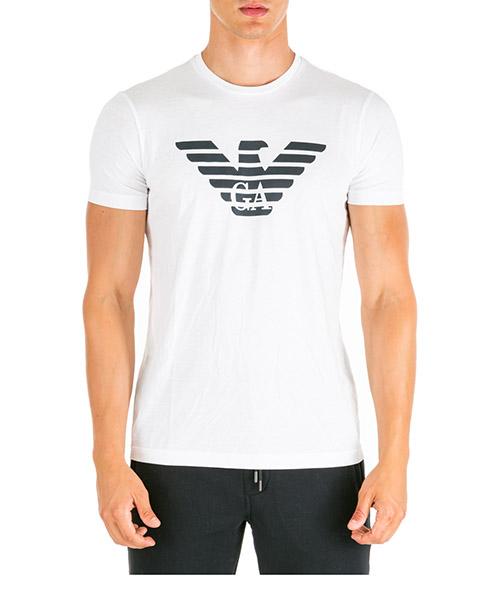 T-shirt Emporio Armani 8N1T991JNQZ0100 bianco ottico