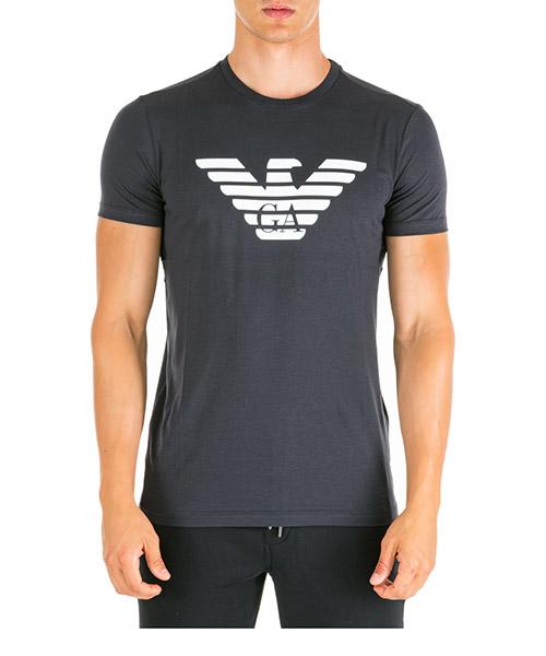 T-shirt Emporio Armani 8N1T991JNQZ0939 blu