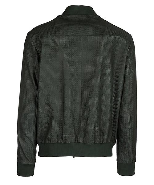 Men's leather outerwear jacket blouson secondary image
