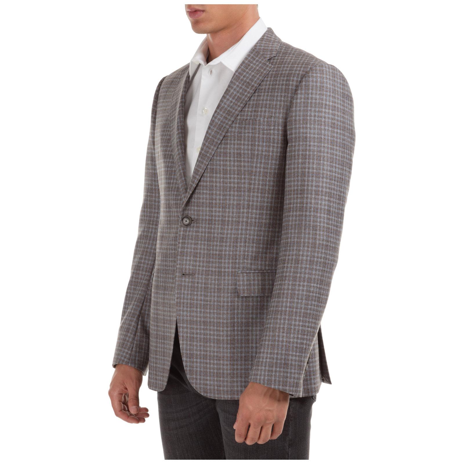 Cazadoras hombres americana de lana chaqueta