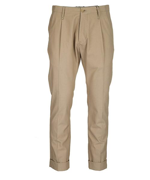 Trousers Emporio Armani W1P59SW1S08130 beige