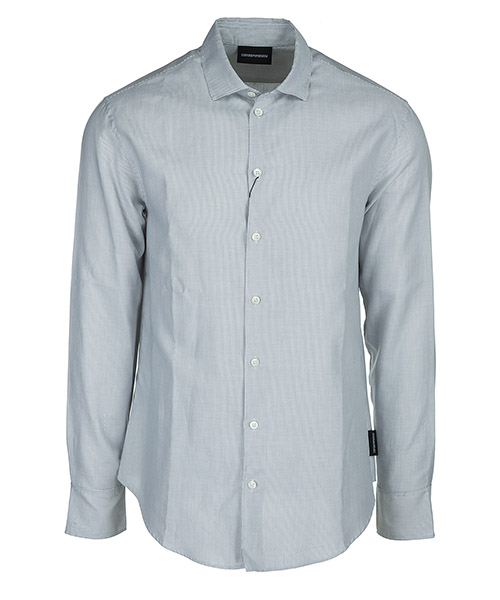 Camisa Emporio Armani W1SMDLW13F6042 bianco