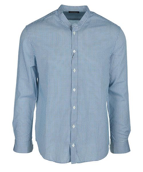 Shirt Emporio Armani W1SMGLW15F0041 blu