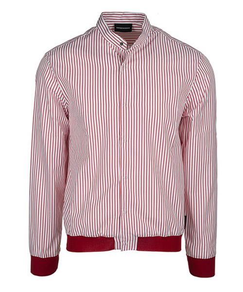 Camicia Emporio Armani W1SMTLW13F8015 bianco