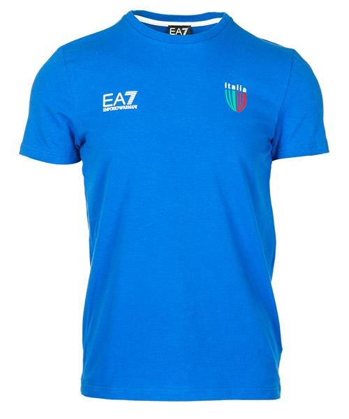 T-shirt Emporio Armani EA7 Italia team 273006CC91412633 true blue