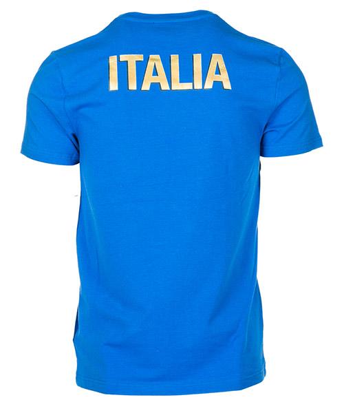 T-shirt maglia maniche corte girocollo uomo italia team secondary image