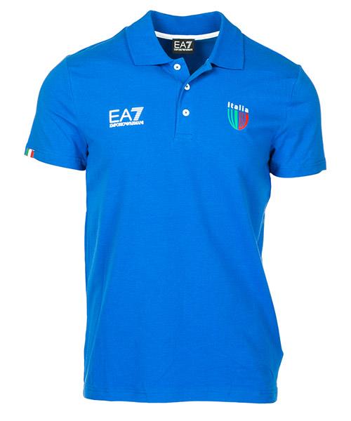 Polo Emporio Armani EA7 Italia team 273177CC91412633 true blue
