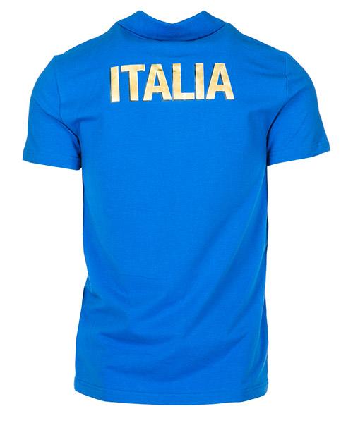 Polo t-shirt maglia maniche corte uomo italia team secondary image