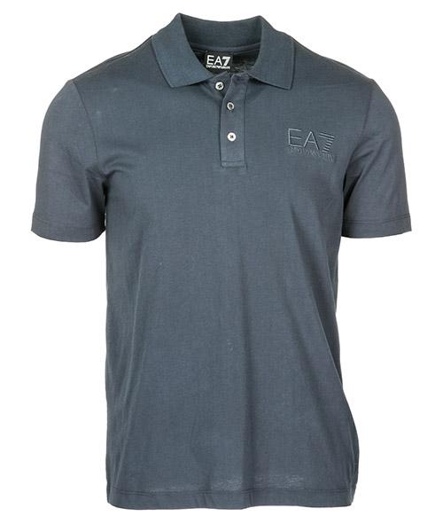 Рубашка поло Emporio Armani EA7 2770336P26102836 dark blu