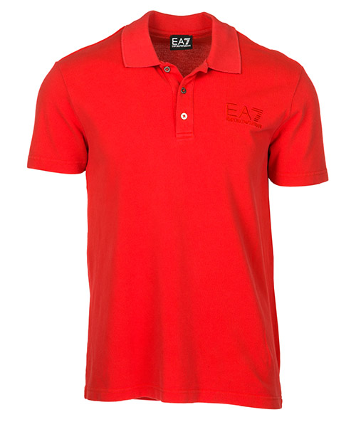 Polo Emporio Armani EA7 2770346P26218274 rosso