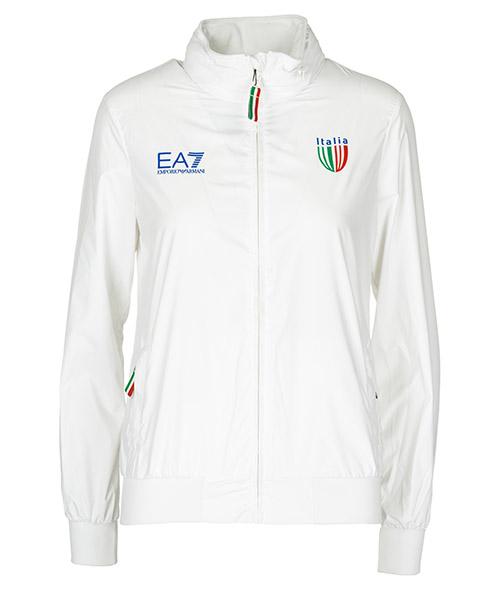 Giubbotto Emporio Armani EA7 Italia team 281360CC91400110 bianco