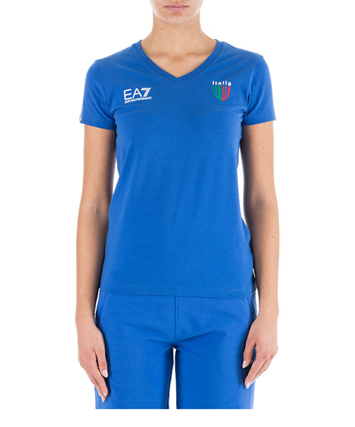 Camiseta Emporio Armani EA7 Italia team 283463CC91412633 true blue