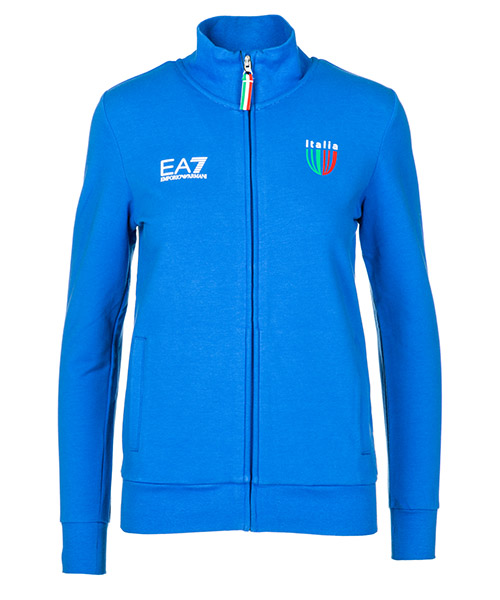 Sweatshirt Emporio Armani EA7 Italia team 284479CC91412633 true blue
