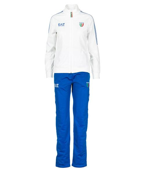 Tuta Emporio Armani EA7 Italia team 286056CC91431510 blu