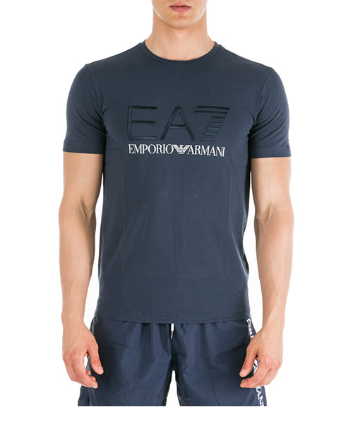 T-shirt Emporio Armani EA7 3GPT03PJ03Z1554 navy blue