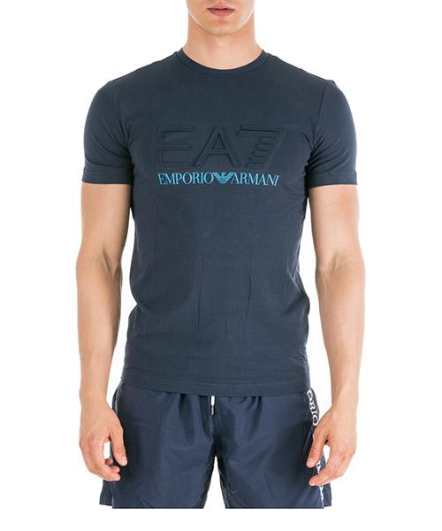 T-shirt Emporio Armani EA7 3GPT04PJ03Z1554 navy blue
