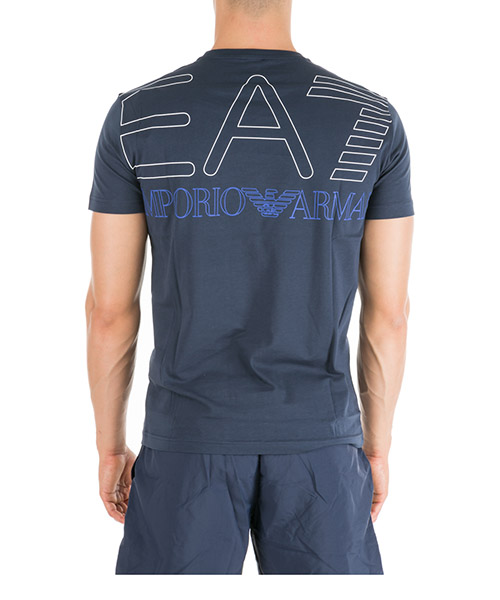 футболка с короткими рукавами круглый вырез горловины мужская secondary image