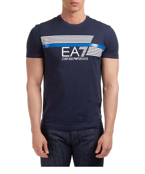 T-shirt Emporio Armani EA7 3HPT34PJ02Z1554 navy blue