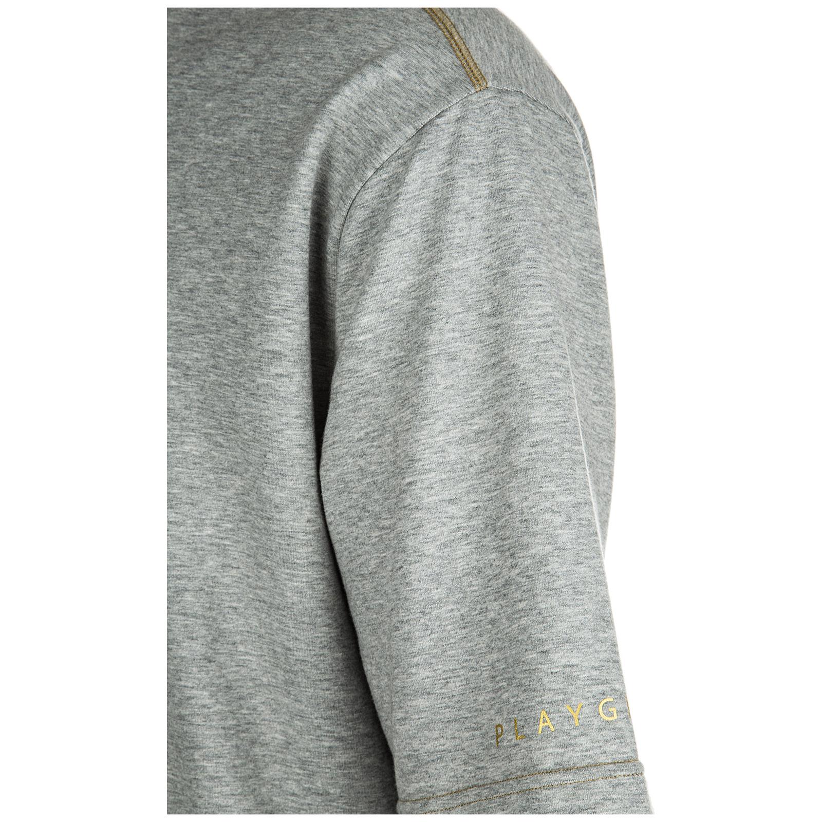 Herren sweatshirt maniche corte