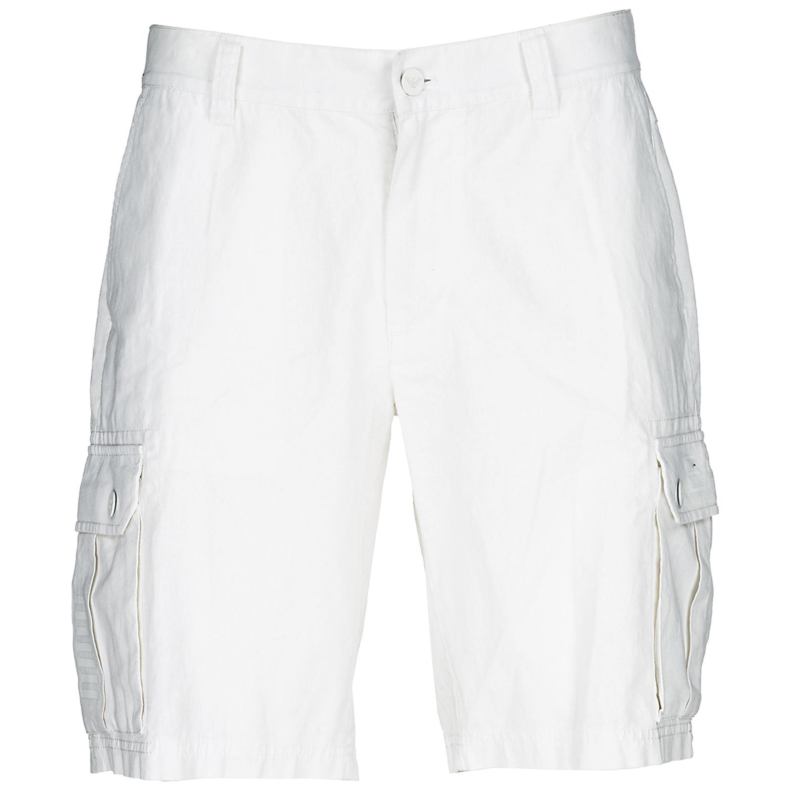 bianco Bermuda Armani 78e87c3993bd64 3ZPS15PN92Z1100 bfb40907222b6c jeans EA7 Homme Pantalons Emporio twill ; Short qw4HHX1