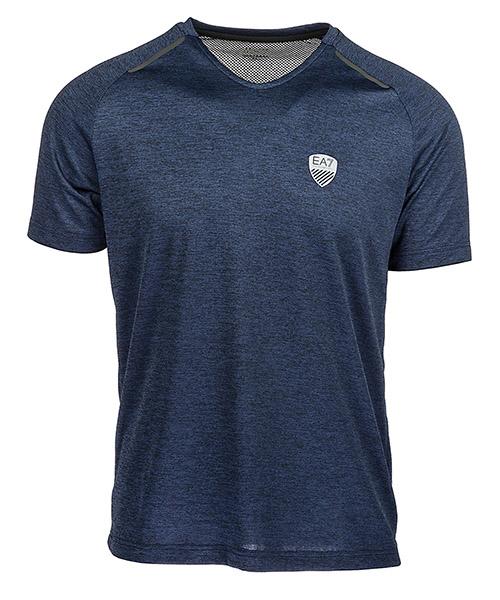 T-shirt Emporio Armani EA7 3ZPT11PJM7Z3502 dark blue melange