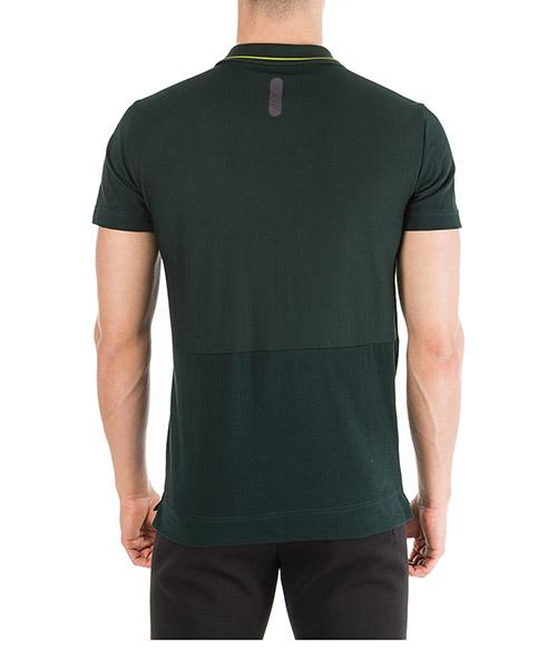 Men's short sleeve t-shirt polo collar secondary image