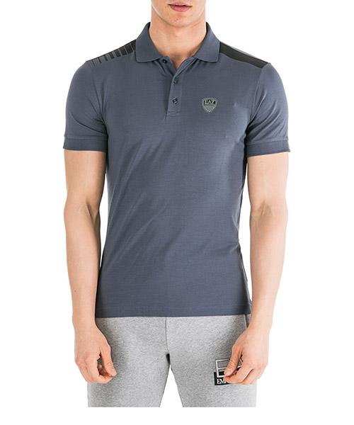 Poloshirt Emporio Armani EA7 6GPF77PJP6Z1539 blu