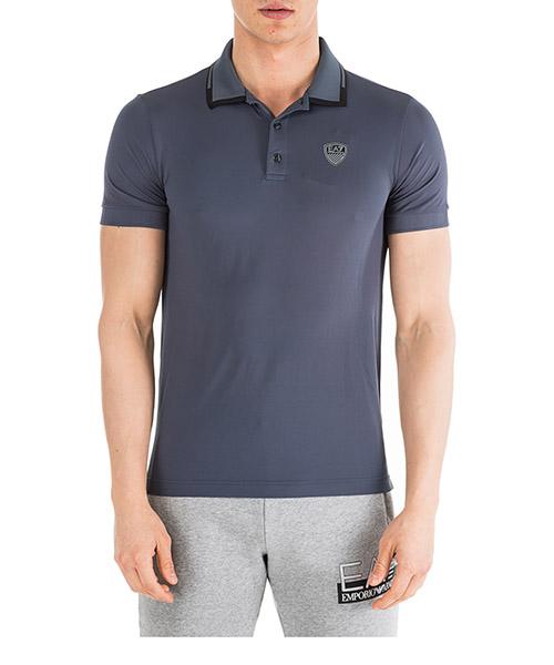 Poloshirt Emporio Armani EA7 6GPF82PJZ8Z1539 blu