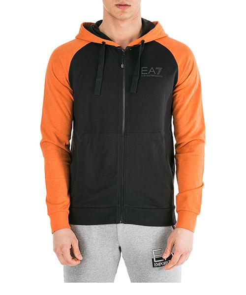 Kapuzensweatshirt Emporio Armani EA7 6GPM15PJ05Z1201 black