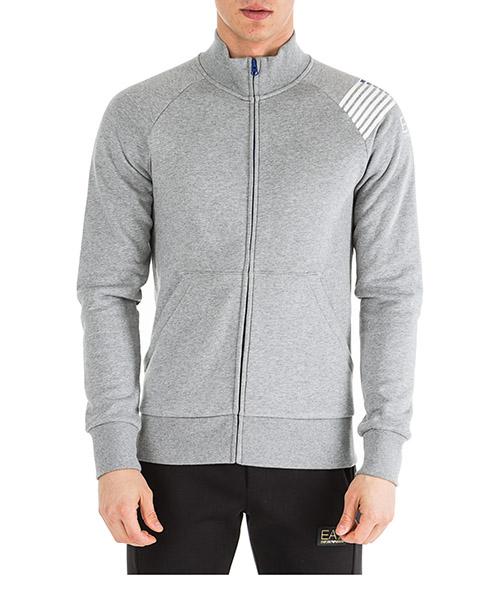 Sweatshirt mit Zip Emporio Armani EA7 6GPM21PJ07Z3905 medium grey melange