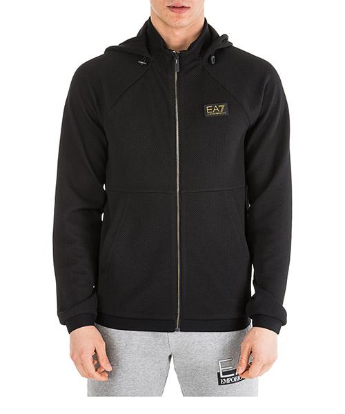 Kapuzensweatshirt Emporio Armani EA7 6GPM24PJG1Z1200 black