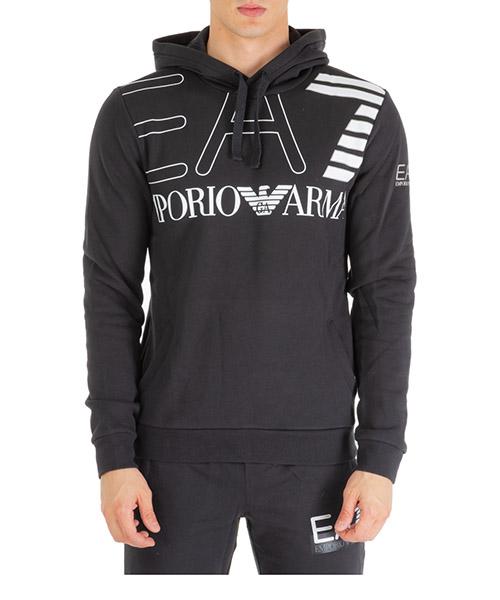 Sudadera con capucha Emporio Armani EA7 6gpm30pj07z1200 black