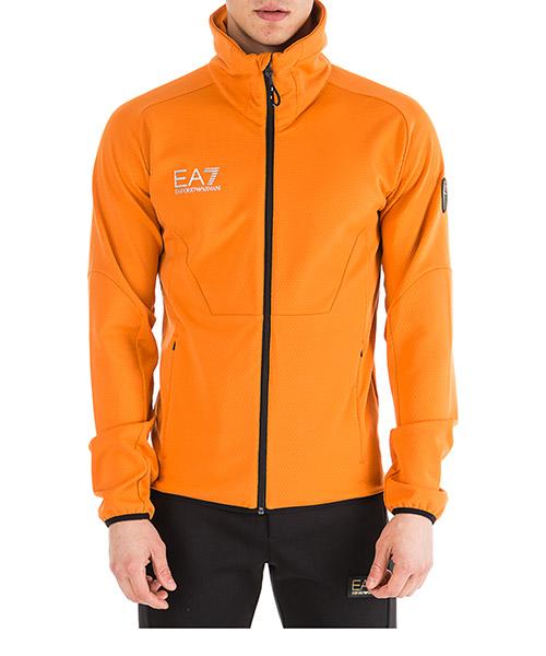 Sweatshirt mit Zip Emporio Armani EA7 6GPM46PJH1Z0655 spezia