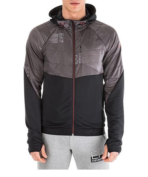 Kapuzensweatshirt Emporio Armani EA7 6GPM72PJ16Z0207 black