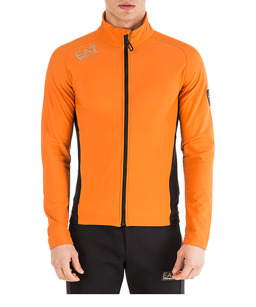 Sweatshirt mit Zip Emporio Armani EA7 6GPM75PJ35Z0655 spezia