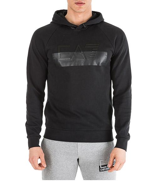 Kapuzensweatshirt Emporio Armani EA7 6GPM85PJJ5Z1200 nero
