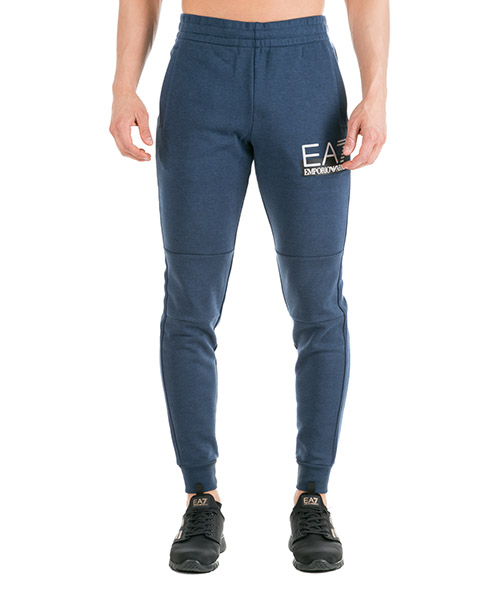 Pantalones deportivos Emporio Armani EA7 6GPP79PJF3Z blue melange