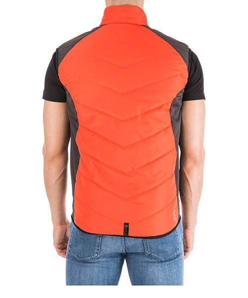 Men's nylon waistcoat body warmer jacket padded secondary image