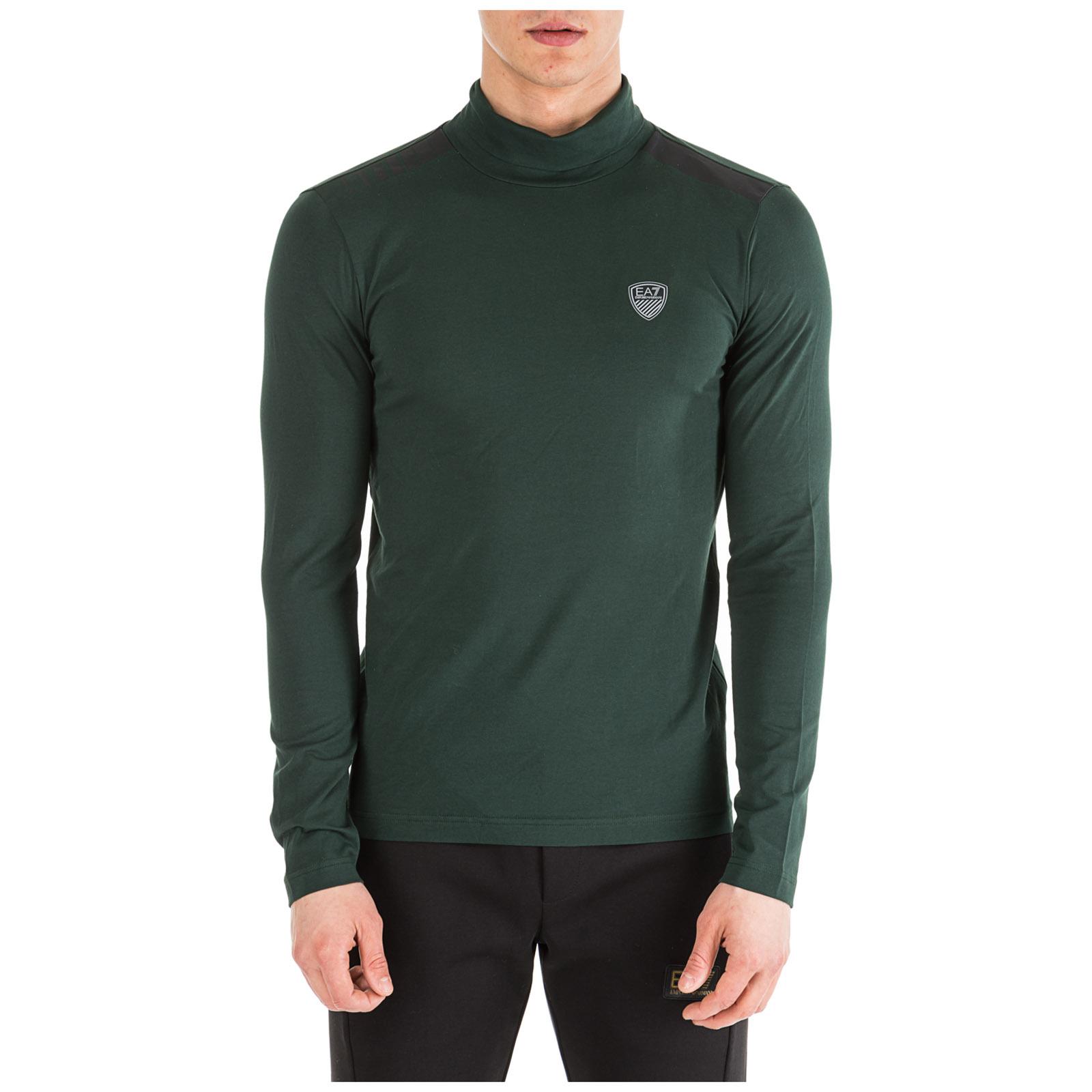 Emporio T Manica 6gpt94pjp6z1860 Armani Ea7 Verde Lunga Shirt BoedrxC