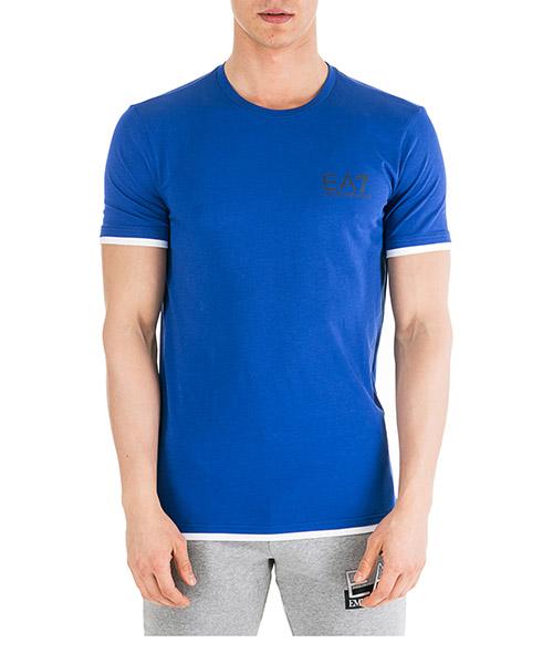 T-shirt Emporio Armani EA7 - 6GPT02PJ03Z1570 blu